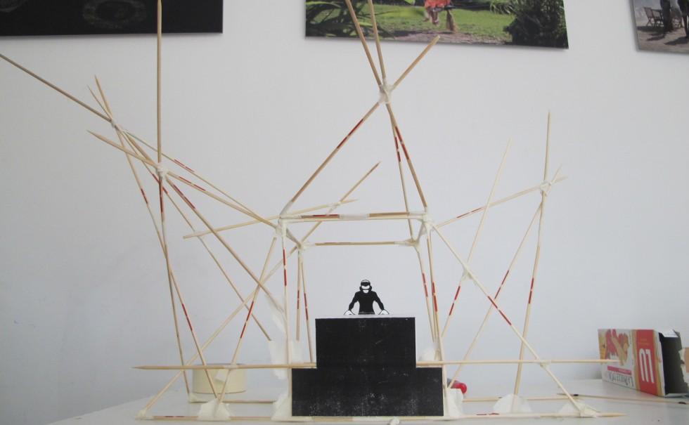 Tiger Wood / maquette de travail